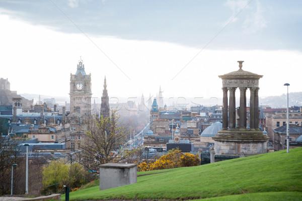 Calton Hill Edinburgh Stock photo © vichie81