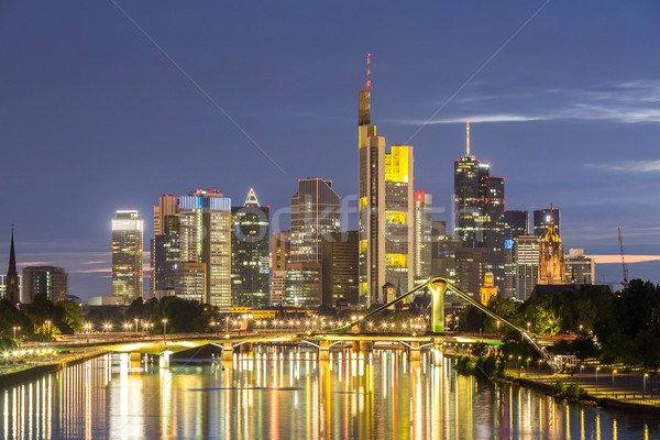 Germany Frankfurt Skylines Stock photo © vichie81