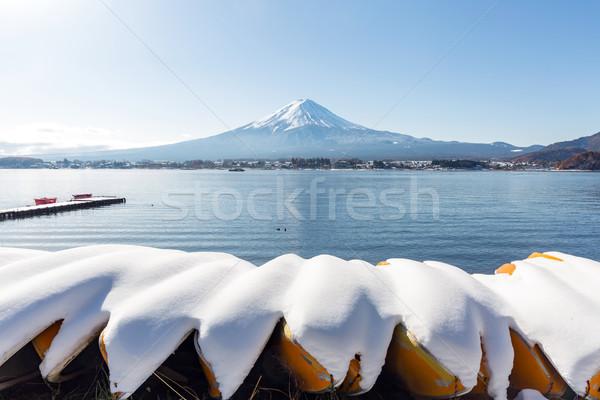 Mt. Fuji mountain Stock photo © vichie81