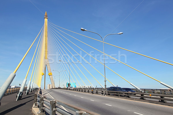 Rama 8 Bridge Bangkok Stock photo © vichie81