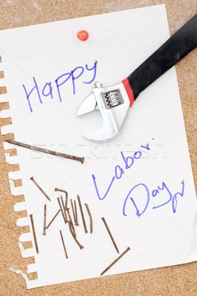 Happy Labor Day Stock photo © vichie81