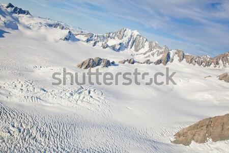Winter landscape Mountain Cook New Zealand Stock photo © vichie81