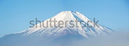Fuji Dağı panorama Japonya dağ fuji göl Stok fotoğraf © vichie81