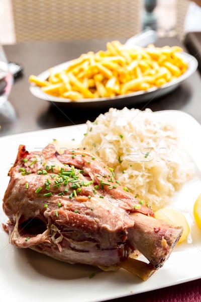 german pork knuckle Stock photo © vichie81