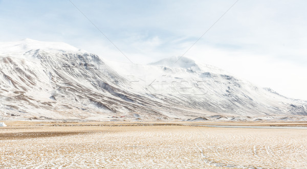 Iceland Winter landscape Stock photo © vichie81