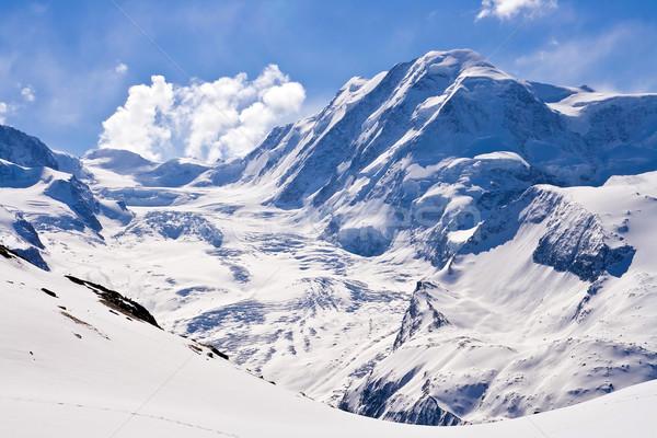 Alp in gornergrat Switzerland Stock photo © vichie81