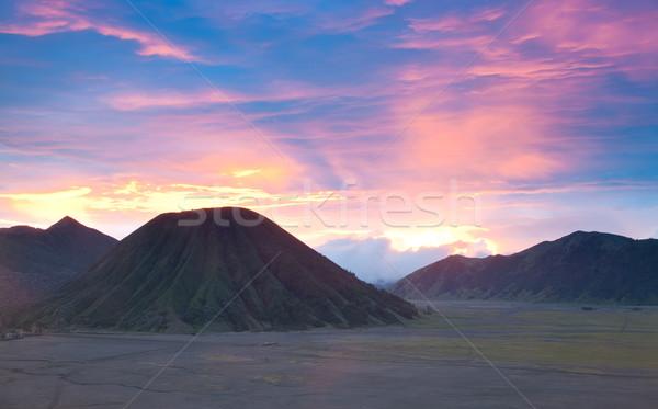 Bromo Mountain Region National Park Indonesia Stock photo © vichie81