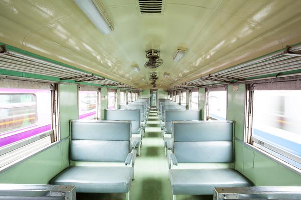 Empty seat locomotive Stock photo © vichie81
