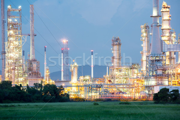 Oil Refinery Factory Stock photo © vichie81