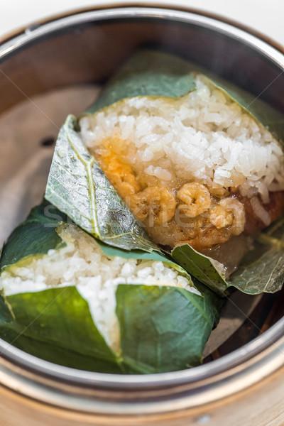 sticky rice dumpling Stock photo © vichie81