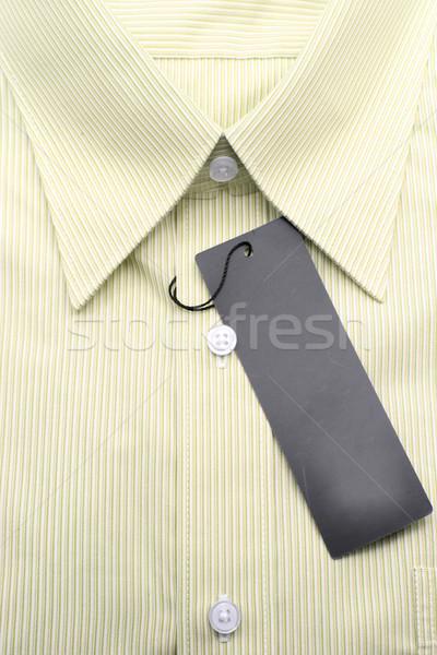 yellow business shirt Stock photo © vichie81