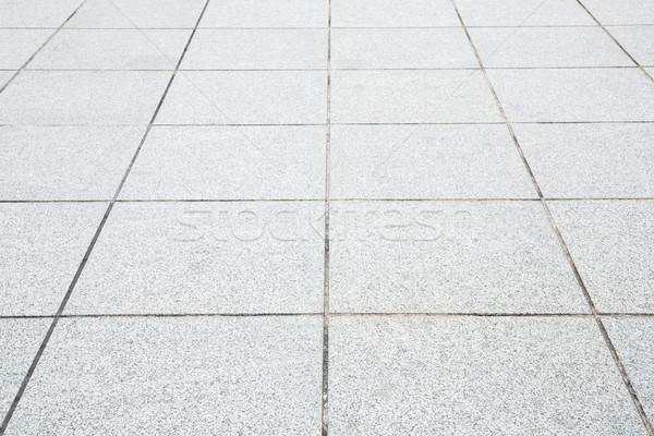 тротуар перспективы конкретные кирпичных дороги строительство Сток-фото © vichie81