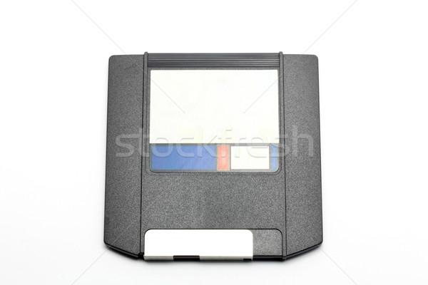 Bilgisayar sürmek manyetik destek beyaz Stok fotoğraf © vichie81