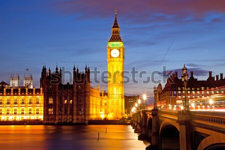 Big Ben and House of Parliament London Stock photo © vichie81