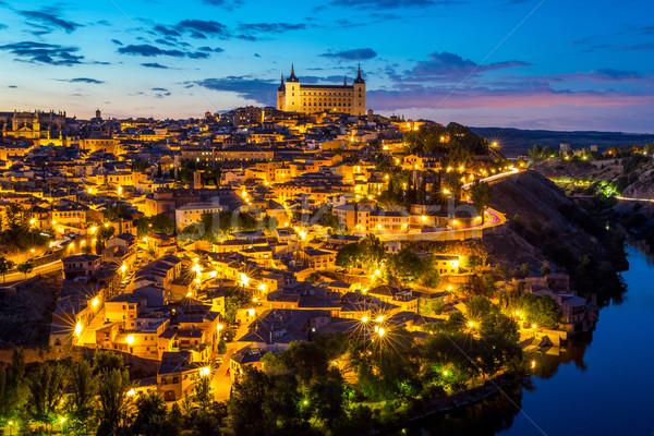 Toledo cityscape Spain Stock photo © vichie81