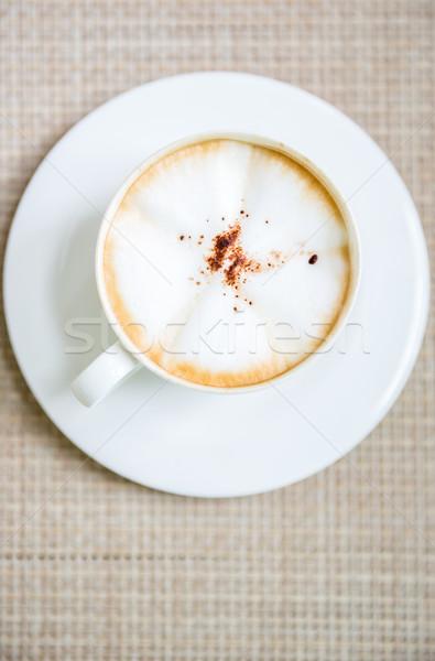 Coffee latte art Stock photo © vichie81