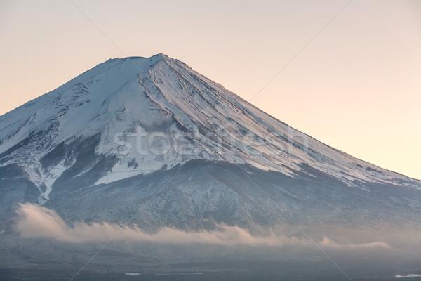 Mountain Fuji Kawaguchiko Stock photo © vichie81
