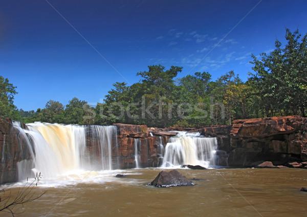 Waterfall Stock photo © vichie81