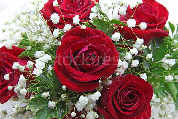 rose bouquet Stock photo © vichie81