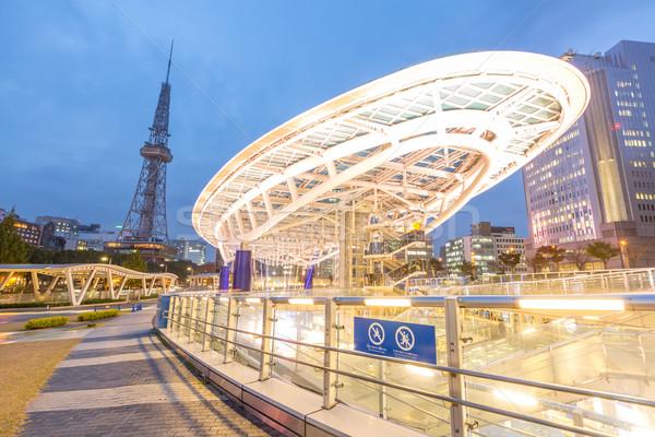 оазис общественного парка Япония башни Сток-фото © vichie81