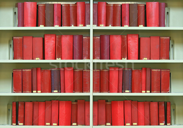 red old hardcover books Stock photo © vichie81