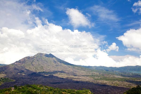 Batur volcano Bali Indonesia Stock photo © vichie81