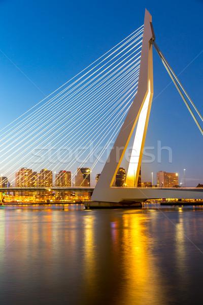 Stock photo: Erasmus bridge Rotterdam