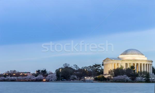 Thomas Jefferson Memorial building Stock photo © vichie81