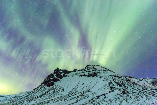 Northern Light Aurora Stock photo © vichie81