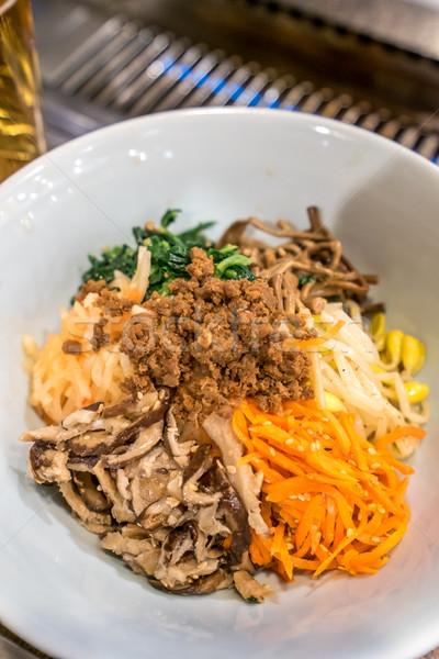 korean style salad vegetable Stock photo © vichie81