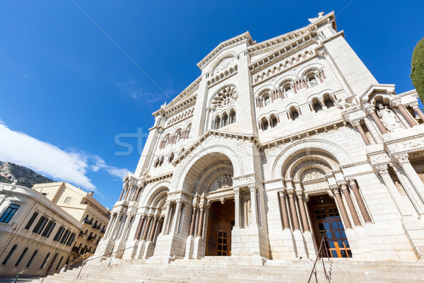 Monaco Saint Nicholas Cathedral Stock photo © vichie81