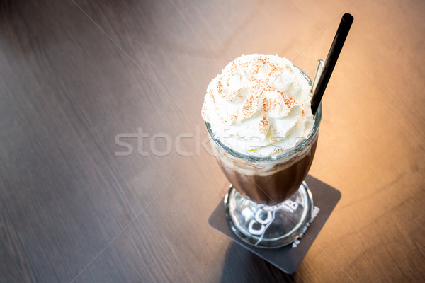 iced mocha coffee Stock photo © vichie81