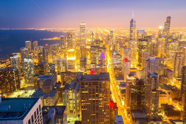 Chicago città centro Foto d'archivio © vichie81