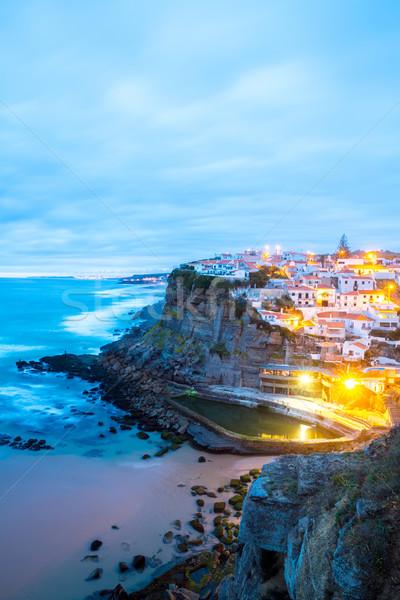 Azenhas do Mar village Portugal Stock photo © vichie81