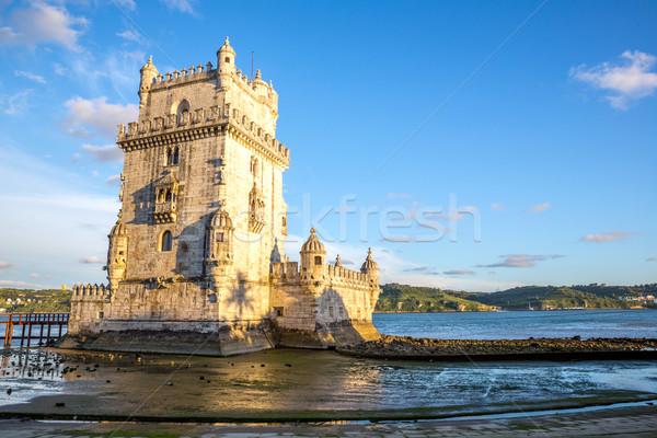 Tower of Belem Lisbon Stock photo © vichie81