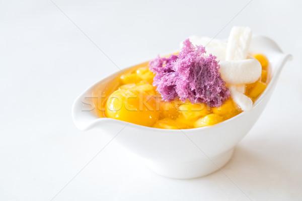 mango dessert Stock photo © vichie81