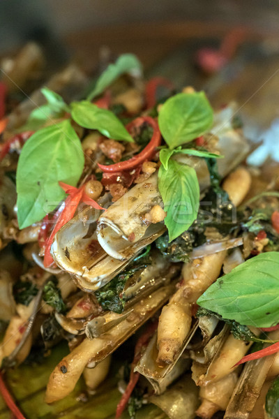 clam razor shell Stock photo © vichie81
