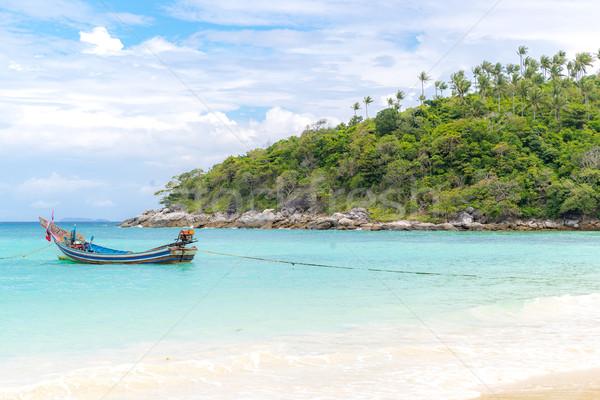 Tropical beach Stock photo © vichie81