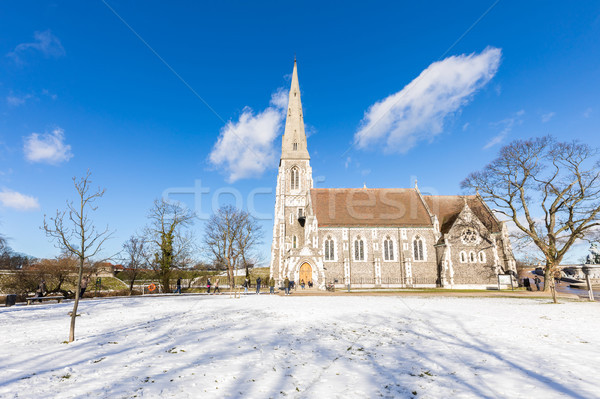 St Alban's Church Copenhagen Denmark Stock photo © vichie81