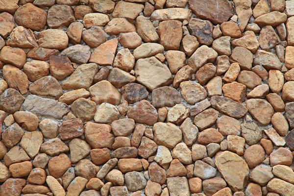 Tuğla duvar model taş modern ev duvar Stok fotoğraf © vichie81
