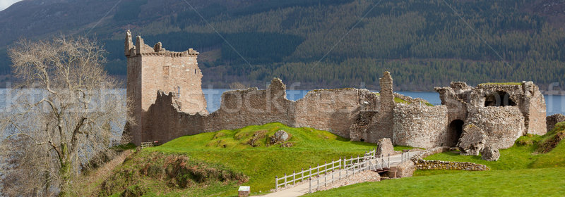 Urquhart Castle Panorama Stock photo © vichie81