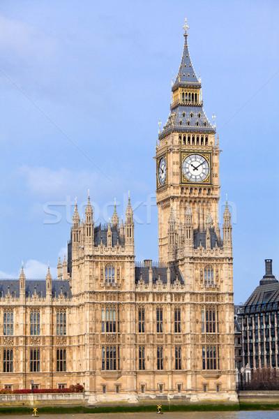 Big Ben Londres Angleterre bâtiment ville urbaine Photo stock © vichie81