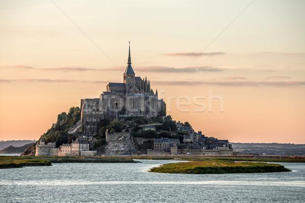 Mont Saint Michele France Stock photo © vichie81