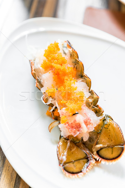 омаров сашими Японский кухня продовольствие морем Сток-фото © vichie81