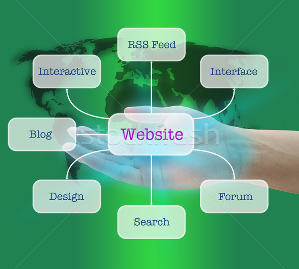 Create Popular Website Stock photo © vichie81