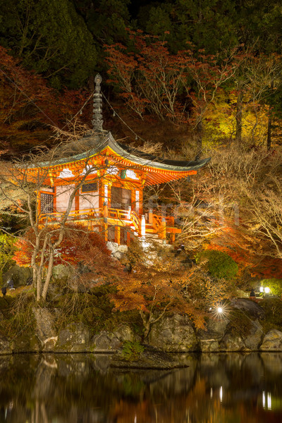 Daigoji Temple Kyoto Night Stock photo © vichie81