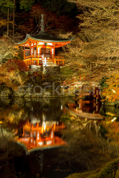 Daigoji Temple Night Kyoto Stock photo © vichie81