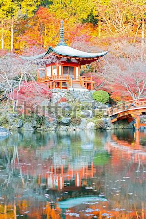Daigoji Temple Kyoto Stock photo © vichie81