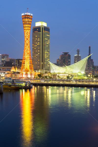 Kobe Tower Japan Stock photo © vichie81