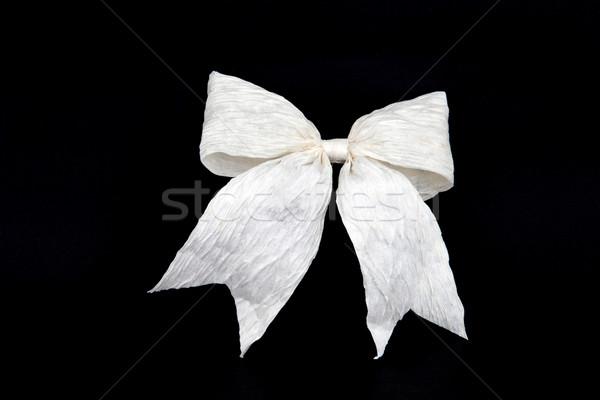 Perspectief geïsoleerd witte boeg vakantie geschenkdoos Stockfoto © vichie81